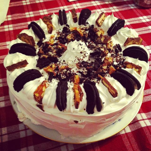 Grandma Marie's Ice Cream Cake